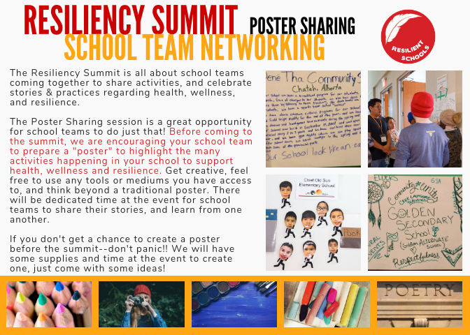 Poster sharing activity description - click image to open PDF